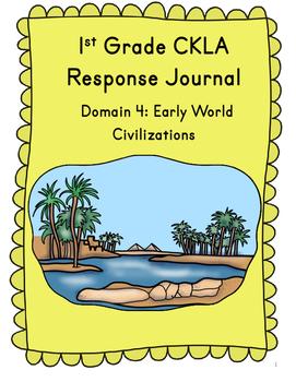 CKLA Grade 1 Domain 4 Reading Response Journal