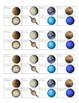 CKLA Grade 1 Domain 6 Planet Chart and Vocab Review