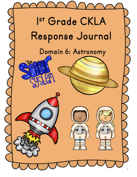 CKLA  Grade 1 Domain 6 Reading Response Journal