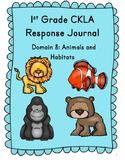 CKLA Grade 1 Domain 8 Reading Response Journal