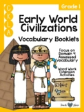 CKLA Grade 1 Early World Civilizations Vocabulary Booklet