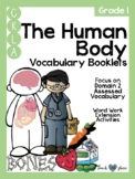 CKLA Grade 1 The Human Body Vocabulary Booklet