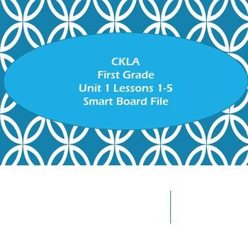 CKLA Grade 1 Unit 1 Lessons 1-5