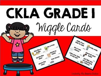 CKLA Grade 1 Wiggle Cards
