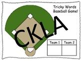CKLA Grade 2 Baseball Game