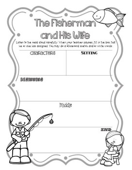 CKLA Grade 2 Domain 1 Fairy Tales and Tall Tales- Active Listening Journal