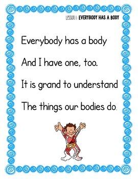Listening Journal, The Human Body, CKLA, Grade 1