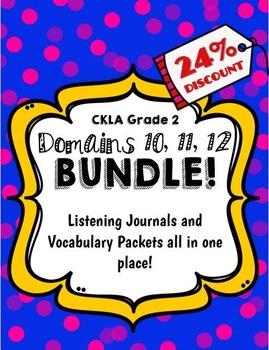 CKLA Grade 2 Domain 10, 11, 12 BUNDLE!