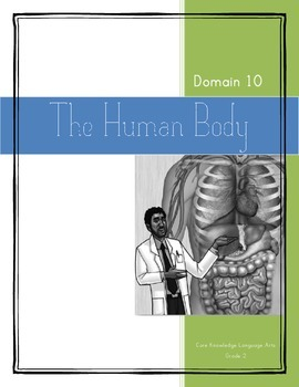CKLA Grade 2 Domain 10 The Human Body Vocabulary Pack