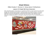 CKLA Grade 2: Domain 2: Early Asian Civilizations Lesson 6 Diwali Writing