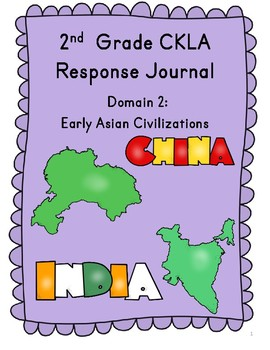 CKLA Grade 2 Domain 2 Reading Response Journal
