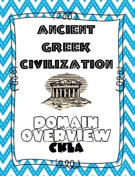 CKLA Grade 2 Domain 3 Ancient Greek Civilization DOMAIN OVERVIEW