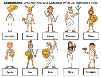 CKLA Grade 2 Domain 3 Ancient Greek Review Centers