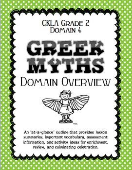 CKLA Grade 2 Domain 4 Greek Myths DOMAIN OVERVIEW