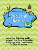 CKLA Grade 2 Domain 6 Cycles in Nature Listening Journal