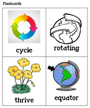 CKLA Grade 2 Domain 6 Cycles in Nature Vocabulary Packet