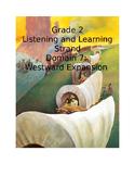 CKLA Grade 2 Domain 7 Westward Expansion Smartboard Unit