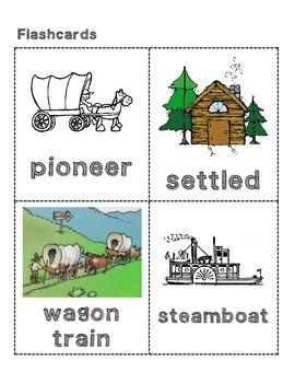 CKLA Grade 2 Domain 7 Westward Expansion Vocabulary Pack