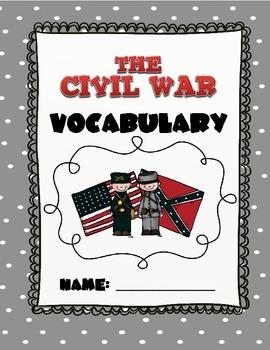 CKLA Grade 2 Domain 9 Civil War Vocabulary Pack