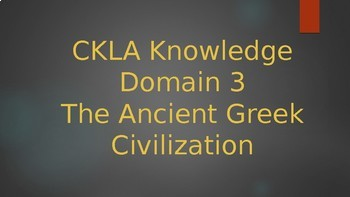 CKLA Grade 2 Knowledge Domain 3 PowerPoints