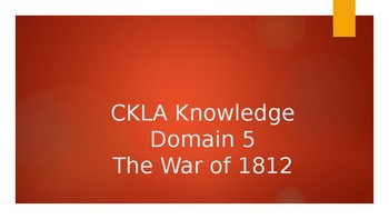 CKLA Grade 2 Knowledge Domain 5 PowerPoints