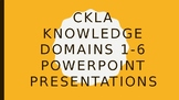 CKLA Grade 2 Knowledge Domains 1-6 PowerPoints