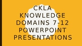 CKLA Grade 2 Knowledge Domains 7-12 PowerPoints