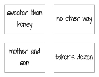 CKLA Grade 2 Skills Unit 5 Sentences and Phrases Flash Cards