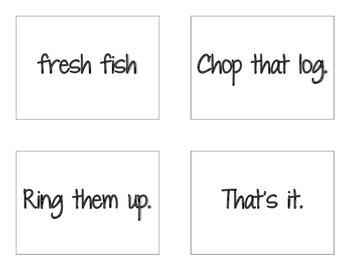CKLA Grade 2 Skills Unit 1 Sentences and Phrases Flash Cards