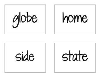 CKLA Grade 2 Skills Unit 2 Decodable Words Flash Cards