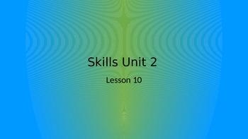 CKLA Grade 2 Skills Unit 2 Lesson 10 PowerPoint