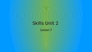 CKLA Grade 2 Skills Unit 2 Lesson 7 PowerPoint