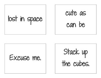 CKLA Grade 2 Skills Unit 2 Sentences and Phrases Flash Cards