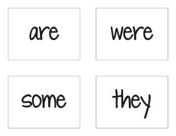 CKLA Grade 2 Skills Unit 2 Tricky Words