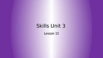 CKLA Grade 2 Skills Unit 3 Lesson 15 PowerPoint