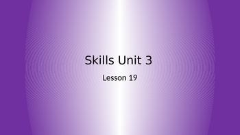 CKLA Grade 2 Skills Unit 3 Lesson 19 PowerPoint