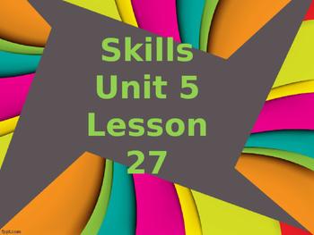 CKLA Grade 2 Skills Unit 5 Lesson 27 PowerPoint