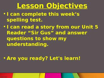 CKLA Grade 2 Skills Unit 5 Lesson 5 PowerPoint