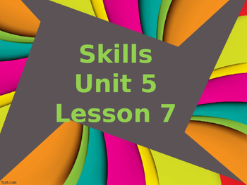 CKLA Grade 2 Skills Unit 5 Lesson 7 PowerPoint