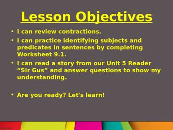CKLA Grade 2 Skills Unit 5 Lesson 9 PowerPoint