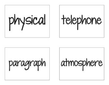 CKLA Grade 2 Skills Unit 6 Decodable Words Flash Cards