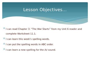 CKLA Grade 2 Skills Unit 6 Lesson 11 PowerPoint