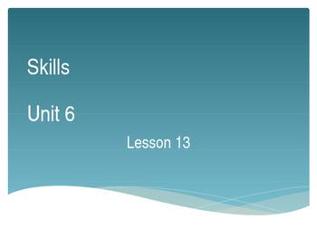 CKLA Grade 2 Skills Unit 6 Lesson 13 PowerPoint