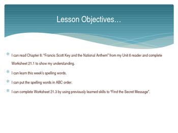 CKLA Grade 2 Skills Unit 6 Lesson 21 PowerPoint