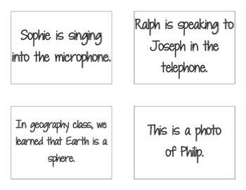 CKLA Grade 2 Skills Unit 6 Sentences and Phrases Flash Cards