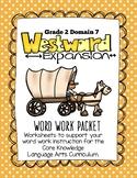 CKLA Grade 2 Word Work Domain 7, Westward Expansion