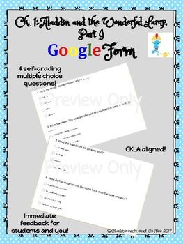 CKLA Grade 3 Skills Unit 1 Classic Tales Google Form Quiz BUNDLE
