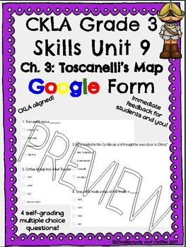 CKLA Grade 3 Skills Unit 9 European Explorers Google Form Quiz BUNDLE