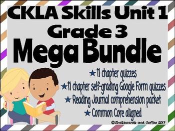 CKLA Grade 3 Unit 1 Classic Tales MEGA BUNDLE