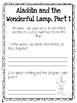 CKLA Grade 3 Unit 1 Classic Tales Reading Journal